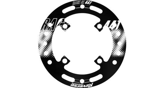Reverse Race SL ketjunohjain Bashguard 44T , valkoinen/musta